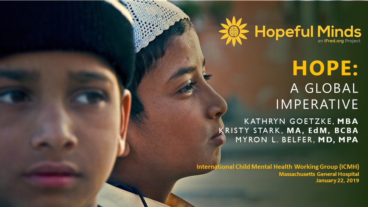 Hopeful Minds - An iFred org Project to Teach Hope